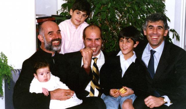 La famiglia di p. Giovanni Santolini si incontra