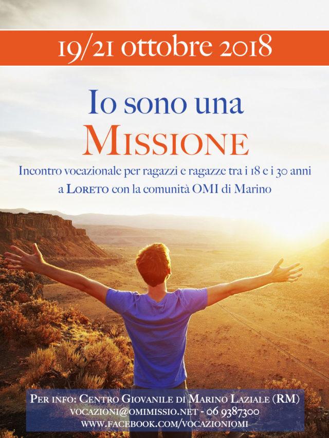 """""""Io sono una Missione"""": incontro vocazionale per giovani a Loreto"""