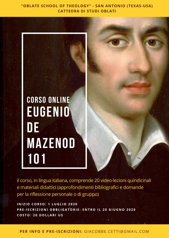 "Corso online ""Eugenio de Mazenod 101"""